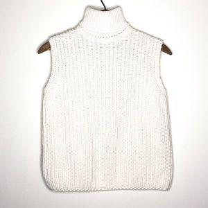 Vintage Jeanne Pierre Cream Minimalist Knit Tank M